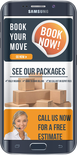 MLB Removals Mobile Website