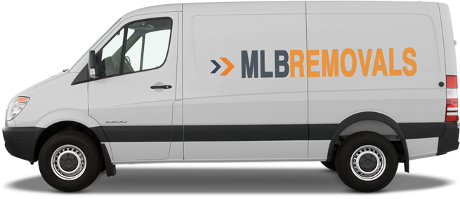 MLB Removals Van