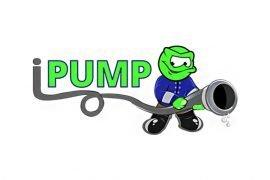 I Pump Concrete Logo Design