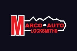 Marco Auto Locksmiths Logo Design
