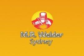 Mr Welder Logo Design