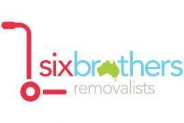 Six Brothers Removalist Logo Design