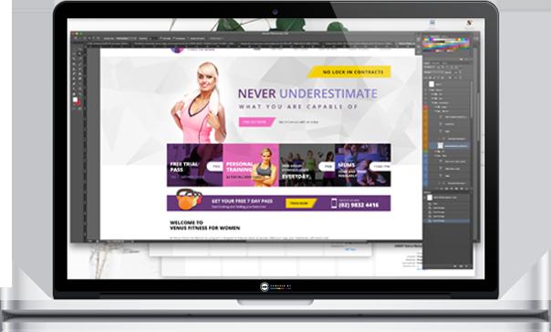 Venus Fitness For Women Website