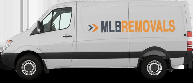 MLB Removals Van