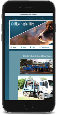 Blue Heeler Bins Non Responsive Website