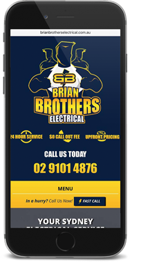 Brian Brothers Electrical Mobile Website
