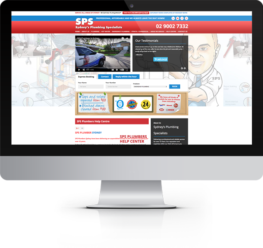 SPS Plumbers Website