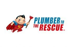 Plumber To The Rescue Logo Design