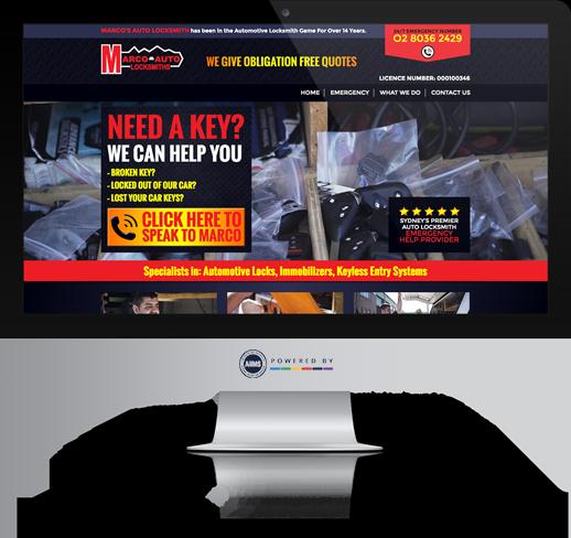 Marco Auto Locksmith Website
